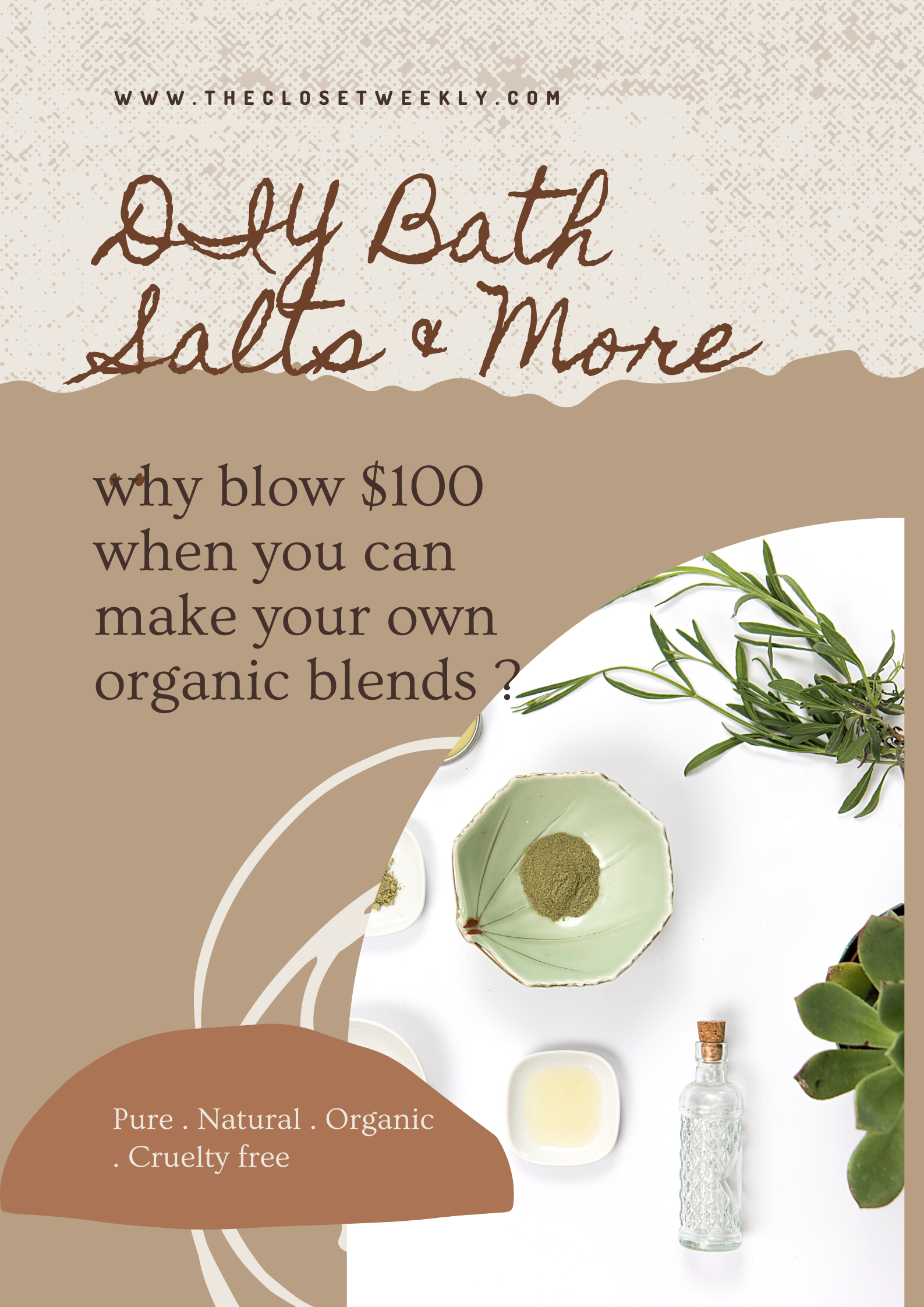 Spring TLC, DIY Soap,Salts and More…