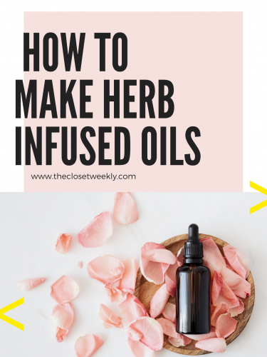 How to Make Herbal Infused Oils for Skin?